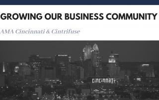 AMA Cincinnati & Cintrifuse, Growing our community
